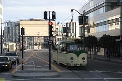 1934 English Electric # 233 (busdude) Tags: blackpool tramways england englishelectric blackpooltramways streetcar muni san francisco municipal railway sfmuni market street marketstreetrailway boattram boat tram