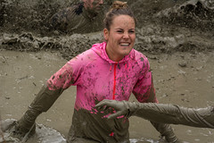 having fun (stevefge) Tags: girls people netherlands sport fun mud nederland viking endurance berendonck nederlandvandaag reflectyourworld strongviking