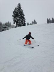 Beau virage dans la poudreuse (Jauss) Tags: ski alps alpes sterreich neige alpen tyrol autriche kitzbhel