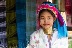 Seller (Plu80) Tags: people color smile canon neck thailand asia village faces mai giraffe wo thailandia seller capodanno chang tribu 2016 2015 600d yapa