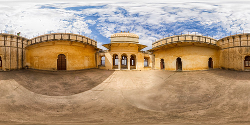 Kumbhalgarh Fort Innenhof
