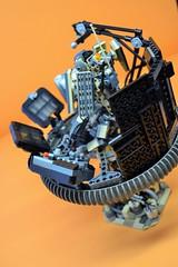 Decibelle_08 (Shadowgear6335) Tags: orange radio robot factory lego good technic hero bionicle mech moc shadowgear6335 bionicle2015