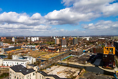 Manchester March 2016 (7 of 9) (johnlinford) Tags: city uk england urban skyline architecture manchester canonefs1022