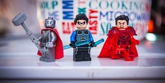 [Lego DC] Steel, Nightwing, and N52 General Zod (Jonathan Wong Photography) Tags: new classic john comics dc post lego general steel dick henry grayson superheroes custom figures crisis 52 nightwing irons zod minifigures purist n52