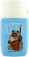 1983 Return of the Jedi thermos (Tom Simpson) Tags: vintage starwars ewok 1983 1980s thermos returnofthejedi