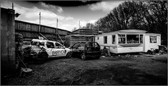Angmering Raceway_018 (Anthony Britton) Tags: photoshop worthing bangers raceway angmering caravanracing canonesom3 1122mlens