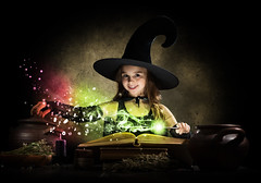 Little witch (noor.khan.alam) Tags: carnival autumn food black cute halloween girl beautiful beauty hat childhood dark studio book costume kid clothing child witch smoke magic gothic cook adorable spell read pot fantasy enjoy fancy stick trick cheerful magical witchcraft exciting caucasian conjure russianfederation sorcery