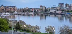 Pano: Inner Harbour 2014 Easter [2x1] (Cameron Knowlton) Tags: ocean panorama seascape canada water museum marina buildings boats hotel harbor nikon bc seascapes harbour dusk britishcolumbia pano panoramas parliament columbia victoria panoramic inner british empress legislature panos fairmont innerharbor empresshotel innerharbour parliamentbuildings d600 legislaturebuildings