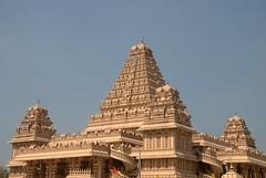 South Indian Style Architecture (VinayakH) Tags: india religious temple delhi hindu hinduism chattarpur katyayani