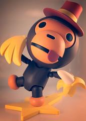 Affi (zamburak) Tags: toy actionfigure ape yamaguchi affi babymilo kaiyodo bathingape bape revoltech seriesno115