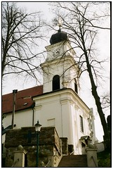 Kirche (hromadkah) Tags: exakta c200 fujicolor exaktavarexiib