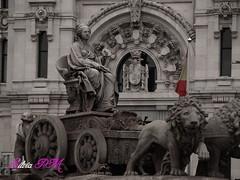 CIBELES (silviapm85) Tags: madrid city espaa spain ciudad olympus fountains fuentes cibeles diosa e410