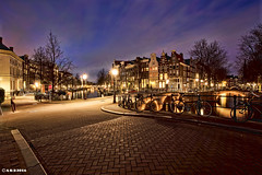Amsterdam. (alamsterdam) Tags: amsterdam reflections evening keizersgracht