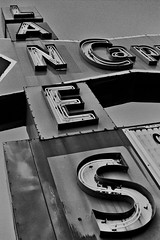 (AbandonedRoadWarrior) Tags: old ohio sign vintage capri nikon rust f bowling americana roadside dayton lanes