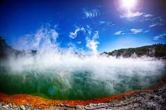 Geothermal Pools (/\ltus) Tags: newzealand pool rotorua sony nz geothermal hdr waiotapu hydroelectric 3xp internalhdr nex7