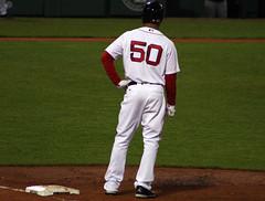 More Mookie steez (ConfessionalPoet) Tags: baseball redsox rf firstbase baserunner rightfielder mookiebetts basesloadedagain