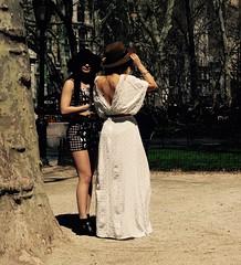 Girls Will Be Girls (Professor Bop) Tags: park nyc newyorkcity women manhattan hats females madisonsquarepark drjazz professorbop olympusem1