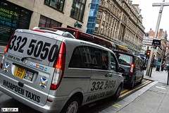 Mercedes vito Taxi Glasgow 2016 (seifracing) Tags: rescue cars mercedes scotland europe traffic britain glasgow taxi security voiture vehicles research trucks emergency polizei spotting recovery strathclyde brigade vito ecosse 2016 seifracing