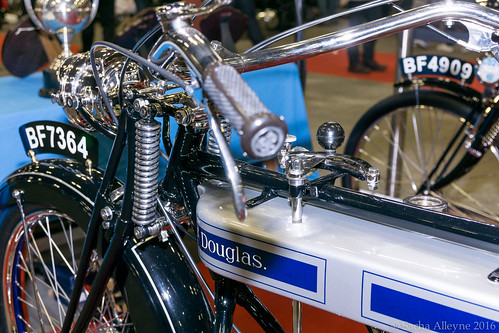 MCN Scottish Motorcycle Show 2016 - 1921 Douglas B21