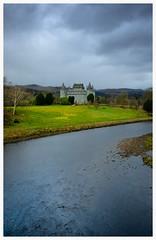 castle in the rain.. Explored 29/3/2016 (theclashcityrocker) Tags: castles river scotland scenery fuji fujinon argyllshire inveraray scottishhighlands scottishlandscape argyllbute fujixseries fujixf1855mm fujixt10