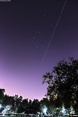 International Space Station (neerajladia) Tags: light station night canon space international astrophotography pollution orion astronomy hunter nightsky iss newdelhi canon700d canonindia spaceindia spacian