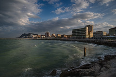 The Beach (A.Husvaer) Tags: sea italy beach water coast fuji pesaro hdr xe2 samyang12mmf2