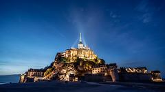 Mont Saint-Michel (Tomas Lei) Tags: fe mont nightfall saintmichel 1635 sonya7 fe1635 fe1635mm