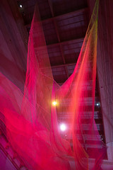 Janet Echelman at the Renwick 2016 (3 of 12) (-Chilly-) Tags: color gallery janet breathtaking renwick washdc luminosity echelman