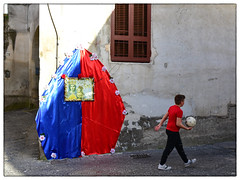 SantaBarca (oiZox) Tags: barcelona santa street colour photography football orlando nikon barca soccer futbol league atletico champions partido imperatore voetball zox