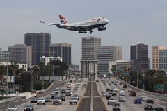 British Airways (So Cal Metro) Tags: plane airplane airport san sandiego aircraft aviation jet airline british boeing britishairways 747 jumbojet airliner jumbo 747400 lindberghfield 744 gbnlo