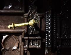 (:Linda:) Tags: church germany bavaria town coburg franconia doorhandle browndoor