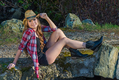 The Lovely Jaclyn (jlucierphoto) Tags: woman hot sexy girl beautiful pose boots outdoor cowgirl lovelyflickr