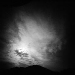The Sky (rustman) Tags: blackandwhite bw square iso3200 grain 11 pinhole worldwidepinholephotographyday 22mm gf1 f128 dynamicblackandwhite panasoniclumixgf1 pinwide wanderlustpinwide