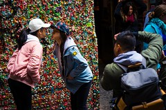 Gum wall photos-08713 (Gene Trent) Tags: pikeplacemarket gumwall
