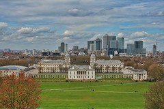 View from Greenwich Park (gary8345) Tags: london view greenwich 2016 londonist snapseed