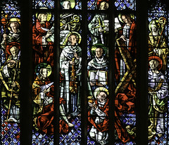 The Apostles of Christ (Lawrence OP) Tags: sanfrancisco windows church dominican saints stainedglass stdominics apostles