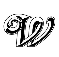 Milano W 250 (pepandtim) Tags: milano letter alphabet 250