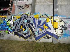 Nerve (Randall 667) Tags: street urban art june train island graffiti artwork artist exploring spoke tracks providence nerve writer rhode ohmy tagger cranston