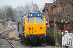 50 050 (D400) - Dereham (GreenHoover) Tags: hoover fearless mnr dereham englishelectric class50 d400 50050 midnorfolkrailway 50050fearless