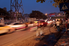 Traffic in Hanoi (Richard Perry) Tags: travel speed movement traffic vietnam busy hanoi vn bustling