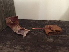 Nature's Wrath (origamiunfolded) Tags: leaf origami tank natural alternate