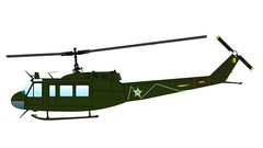 Brazilian Air Force Bell UH-1H Iroquois Helicopter Free Aircraft Paper Model Download (PapercraftSquare) Tags: bell huey iroquois 138 uh1 uh1h belluh1iroquois
