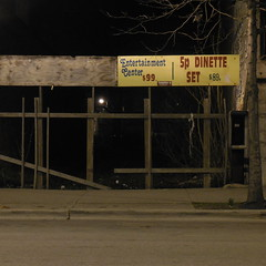 Entertainment Center (all quiet please proceed) Tags: chicago sign night nite roseland