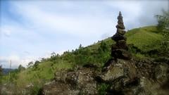 le cairn du Mont Batur  - 10 (Franois le jardinier de Marandon) Tags: bali cairn landart batur rockbalance indonsie franoisarnal