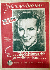 Johannes Heesters (roomman) Tags: old music man berlin guy art history classic 30 vintage germany poster star design 1930s scans slow notes alt 1940 piano style literature exhibition scan historic collection note entertainment 1940s 1950s fox sing page singer 50s 40 johannes title musik 50 der rare rheinland 1950 own pfalz 30s rlp koblenz 40s 1930 rheinlandpfalz ufa titel 40er alte noten titlepage 2016 sammlung klavier walzer epoche verlag winningen selten foxtrott titelseite slowfox heesters johannesheesters