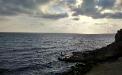 latakia sea (nesreensahi) Tags: sunset sea sky sun beach nature landscape corniche syria siria  syrie latakia