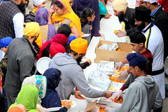Food serving (Honey Agarwal) Tags: family music food toronto ontario canada color kitchen proud john square army drums blog downtown nathan mayor kathleen prayer free parade celebration event meal april greetings females turban sikh punjab kirtan wynne marshal gurudwara humans tory nagar punjabi guru hapiness waheguru serve khalsa 2016 vaisakhi sikhnewyear khalsaday sikhi nathanphilips dhol khanda langar panth osgc seaofcolors turbancolor parade2016 withahugeparadedowntown