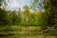 The castle hidden in the nature. (kitchou1 Thanx 4 UR Visits Coms+Faves.) Tags: world park flowers sky nature architecture fleurs season landscape countryside spring europe exterior belgium printemps saison