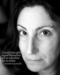 120.366 (sadandbeautiful (Sarah)) Tags: bw woman selfportrait me female self feminism day120 366 366days 366daysx7