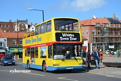 Coastal & Country Whitby Y737TGH. (EYBusman) Tags: road bus london buses ahead volvo town tour open top yorkshire centre president country go north transport central coastal independent whitby regional plaxton b7tl langbourne y737tgh pvl237 eybusman